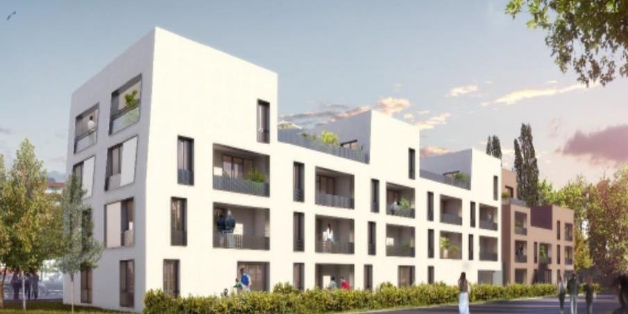 25 logements ostwald evalit for Construction de logements neufs