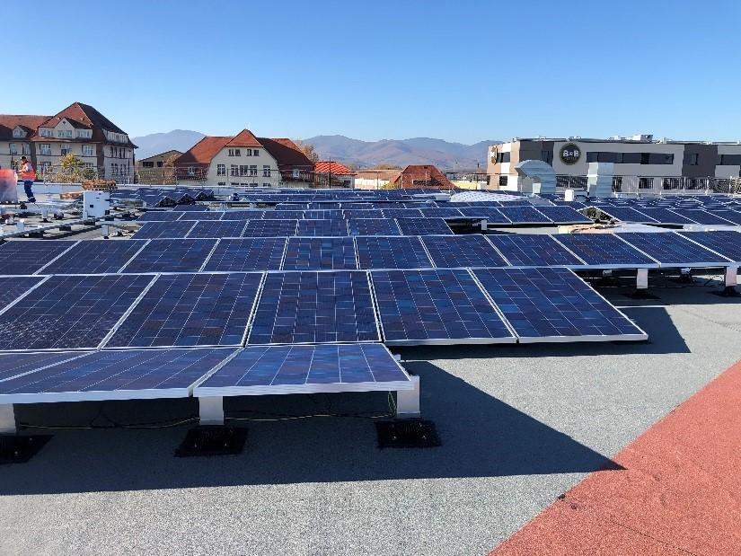Panneaux photovoltaïques concession